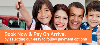 Book now pay on deleivery by selecting our easy to follow payment options